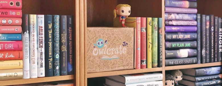 OwlCrate Junior Books